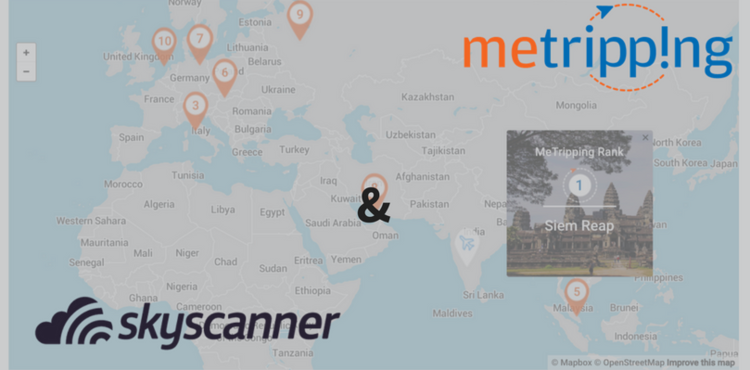Build with Skyscanner Finalist, MeTripping