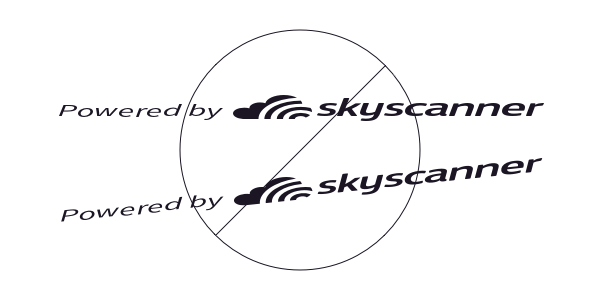 Do not resize, distort or rotate the logo in any direction
