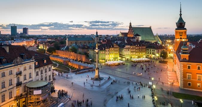 Castle Square Warsaw