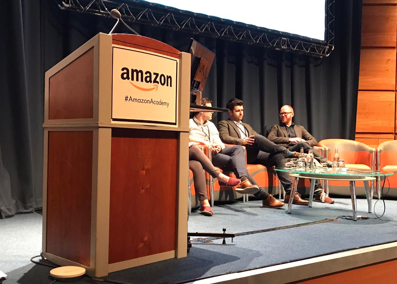 Richard Macdonald-Keen at Amazon Academy