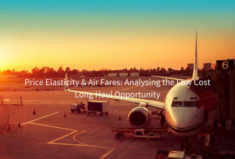 Price Elasticity & Air Fares