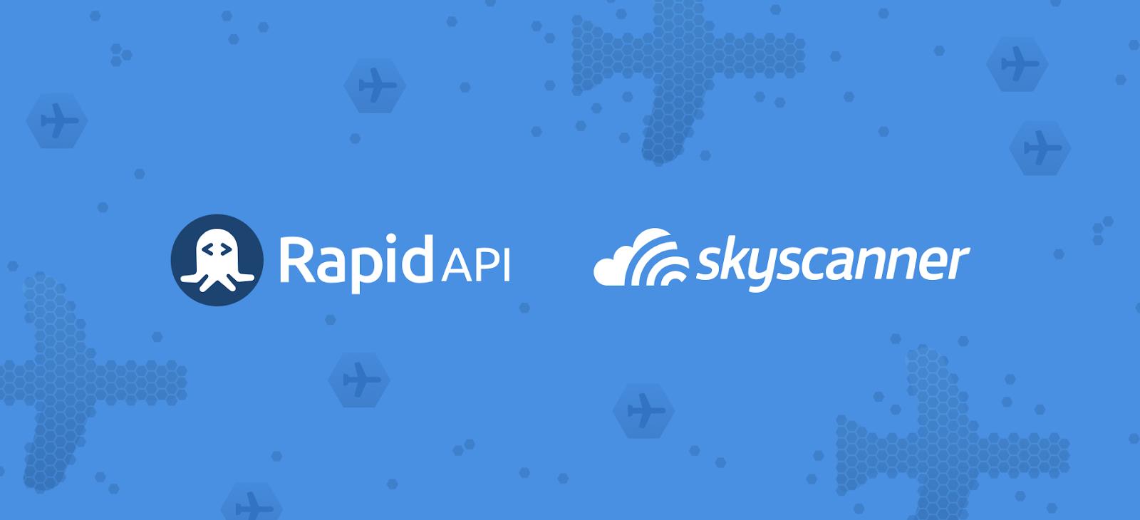 rapidapi and skyscanner