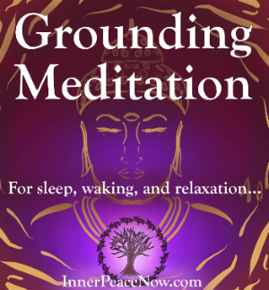 A free grounding meditation for f or sleep, waking and relaxation...