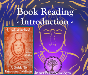 """A free reading of the introduction to the book """"Undisturbed: A Guide To Emotional Wellness"""""""
