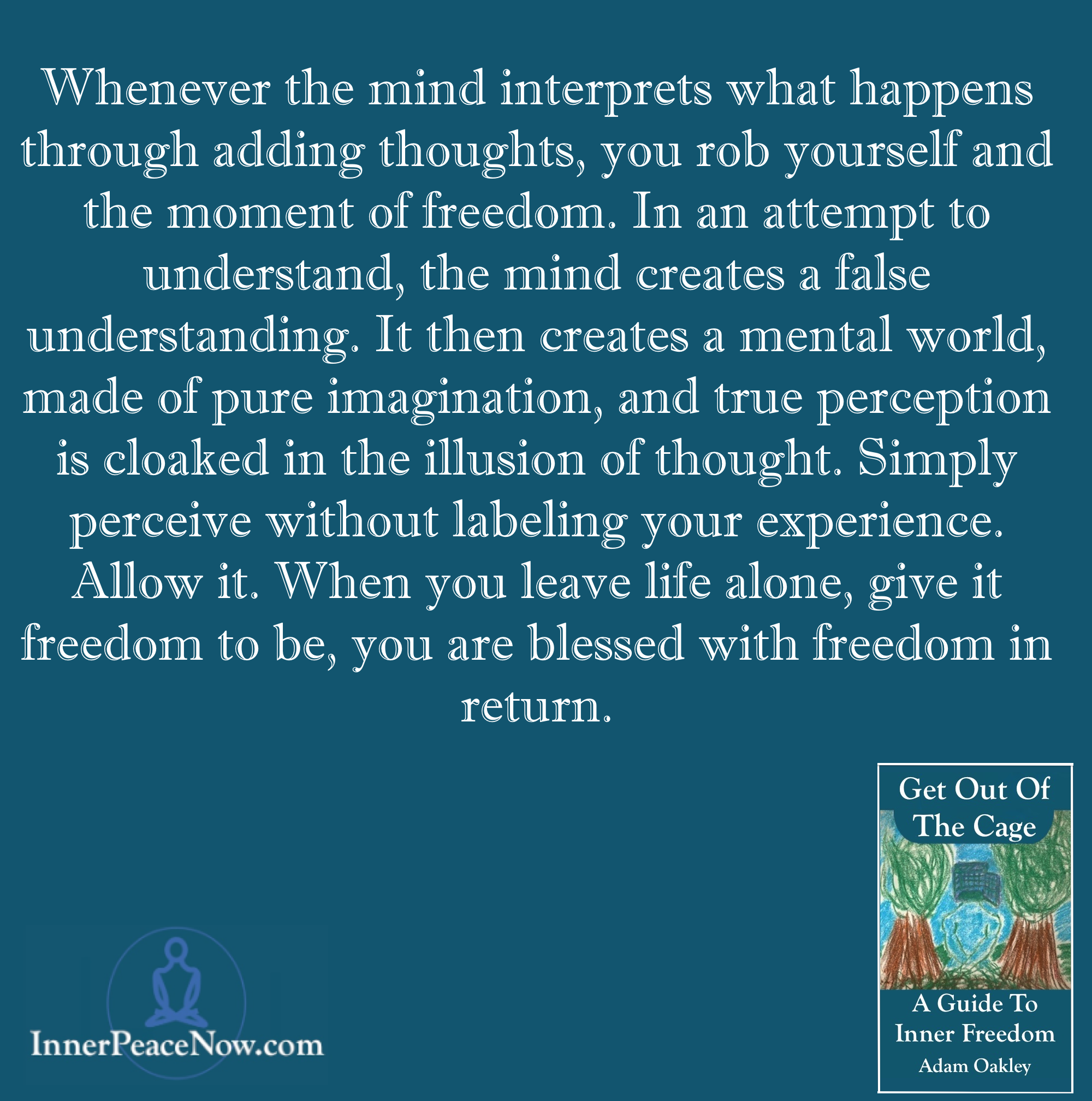 Freedom - Get Out Of The Cage Quote