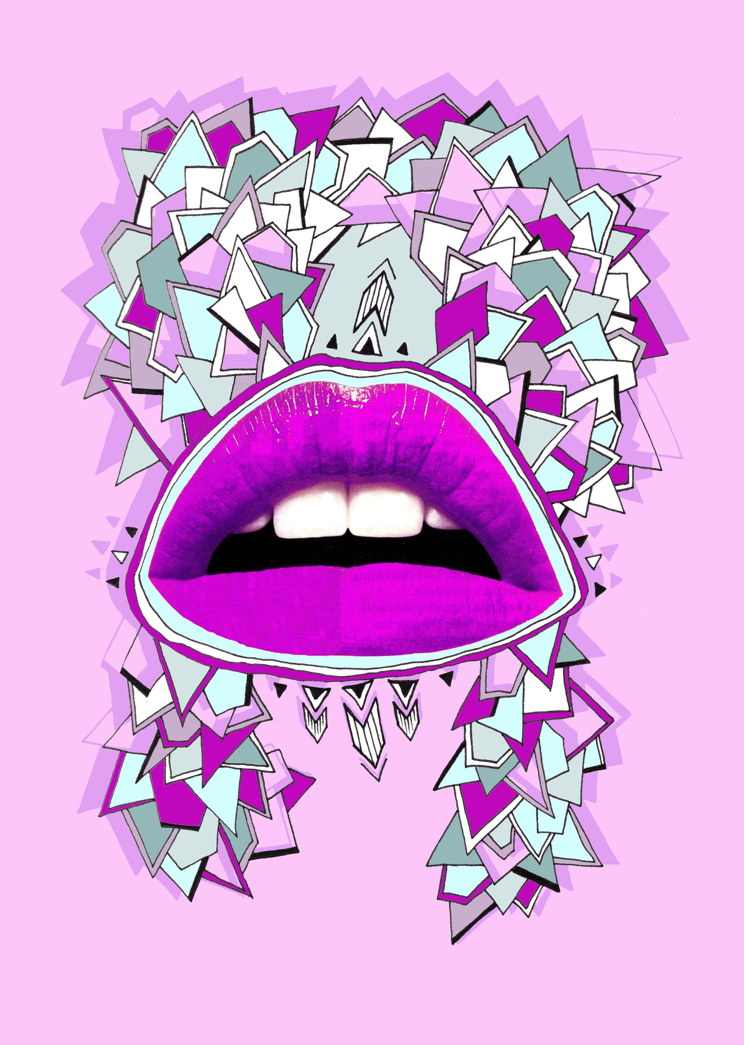 Lips that kiss