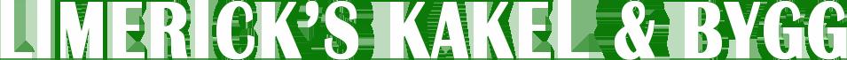 Limerick's kakel & Bygg Logo