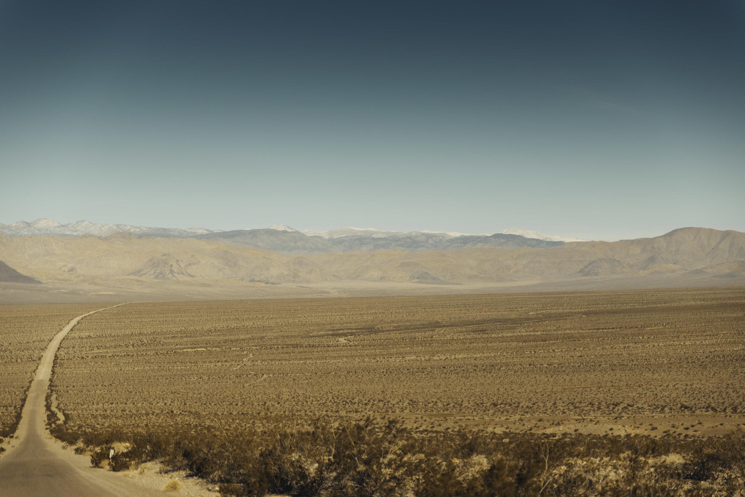 Death Valley road / California