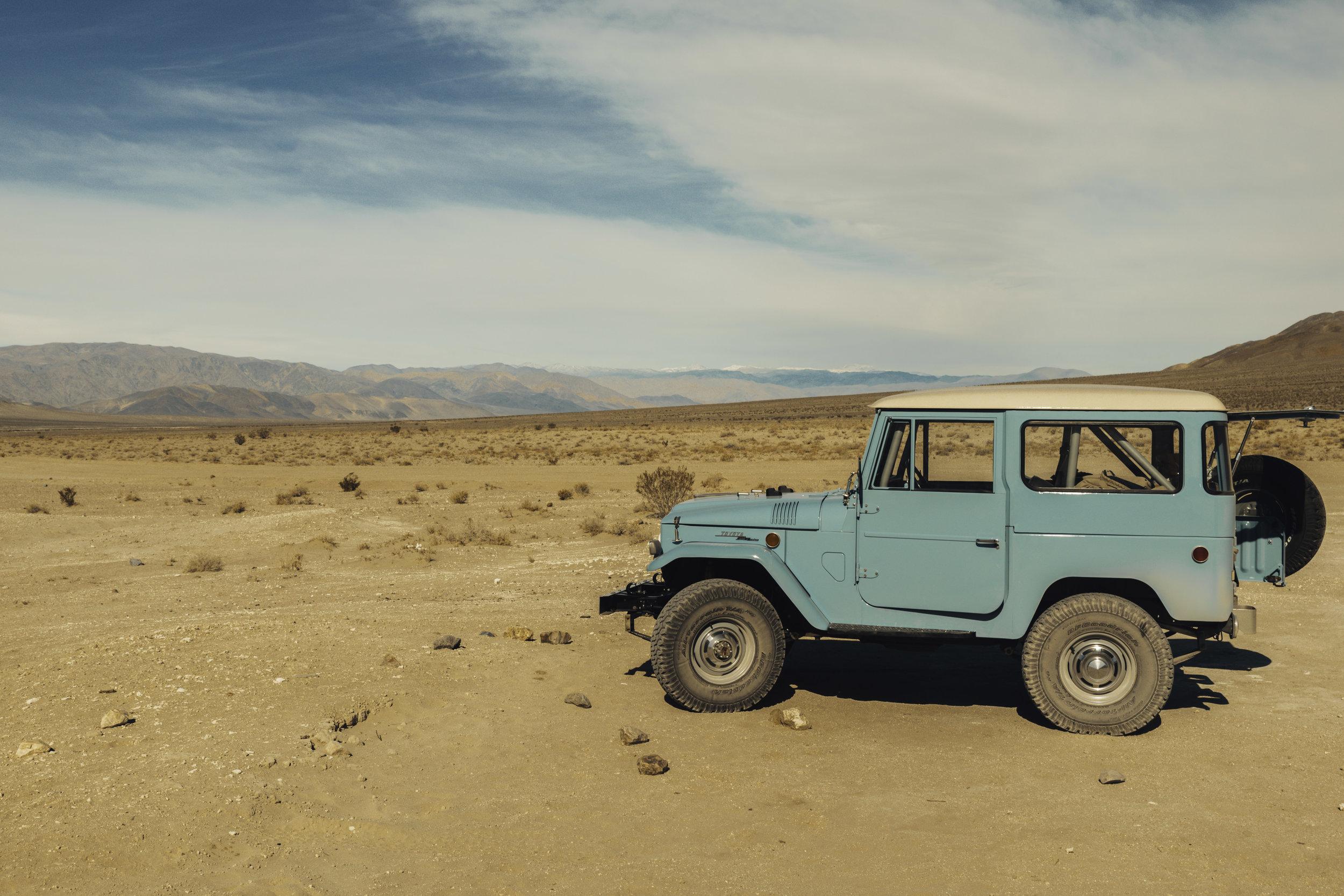 Toyota Land-Cruiser / California