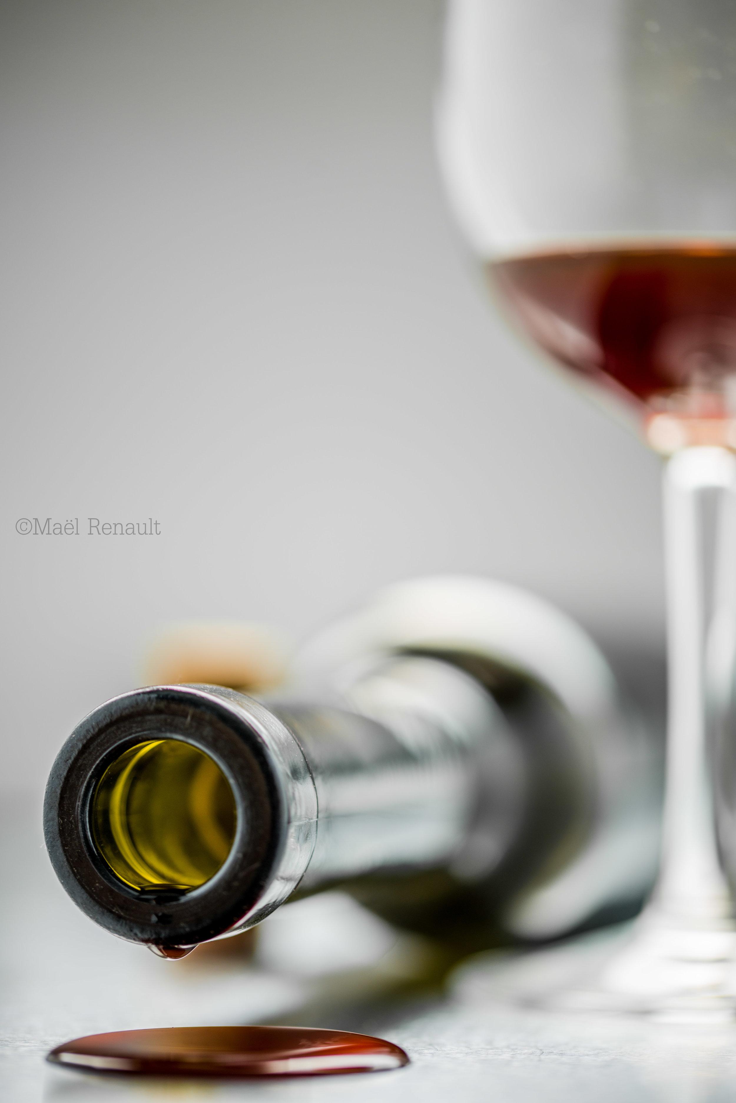 The last drop of wine series / Drink