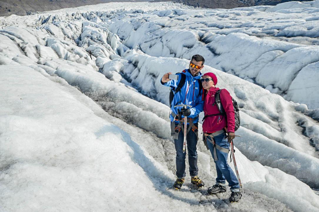 Icy Selfie / Travel