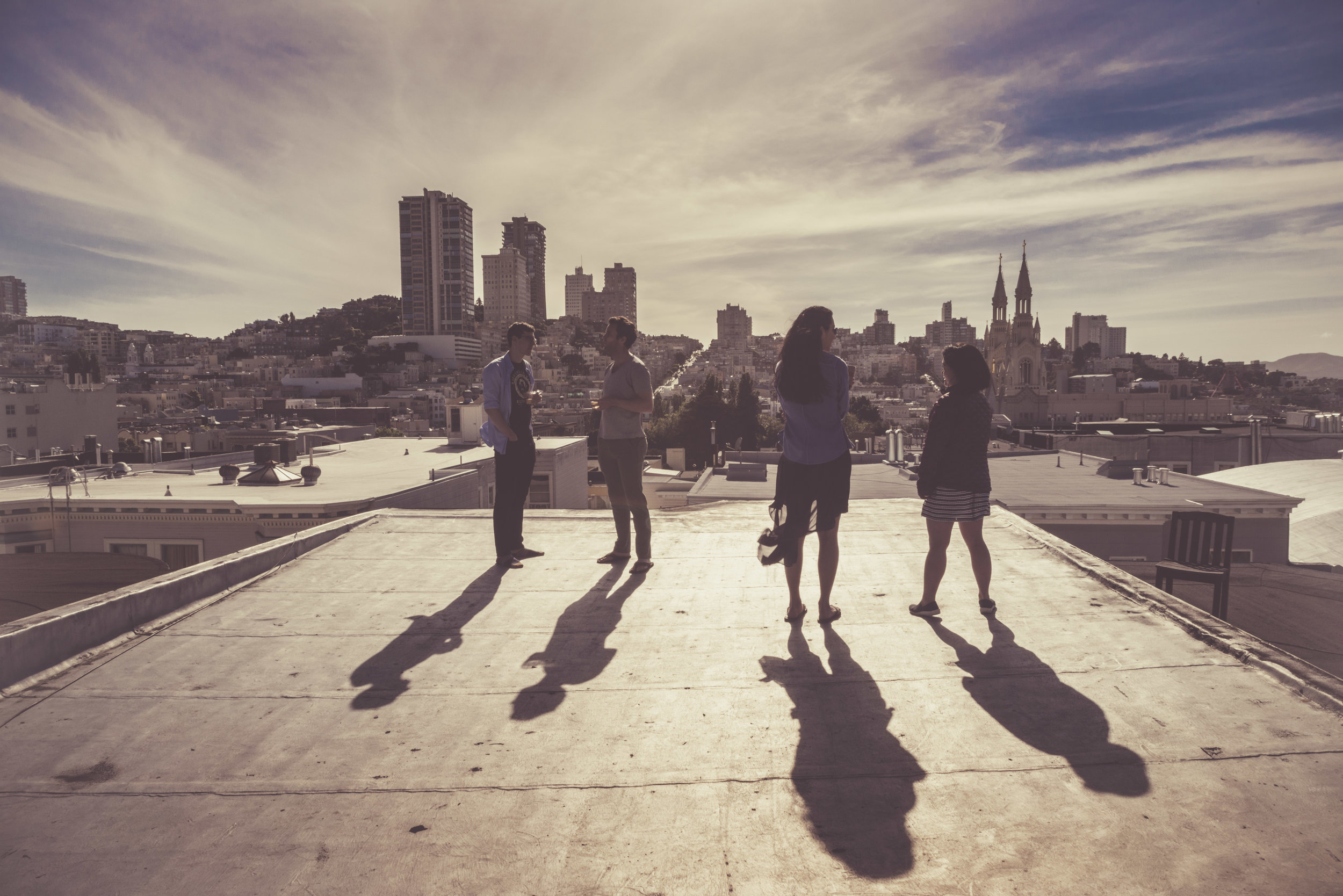 Roof top SFO / Lifestyle