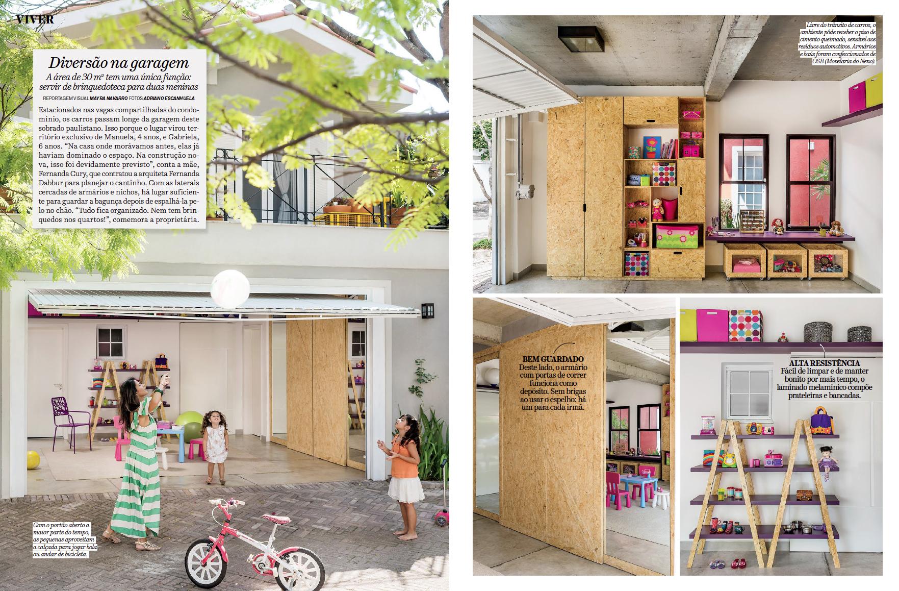 Revista Arquitetura e Constru��o DIVERS�O NA GARAGEM Adriano Escanhuela Fotografias