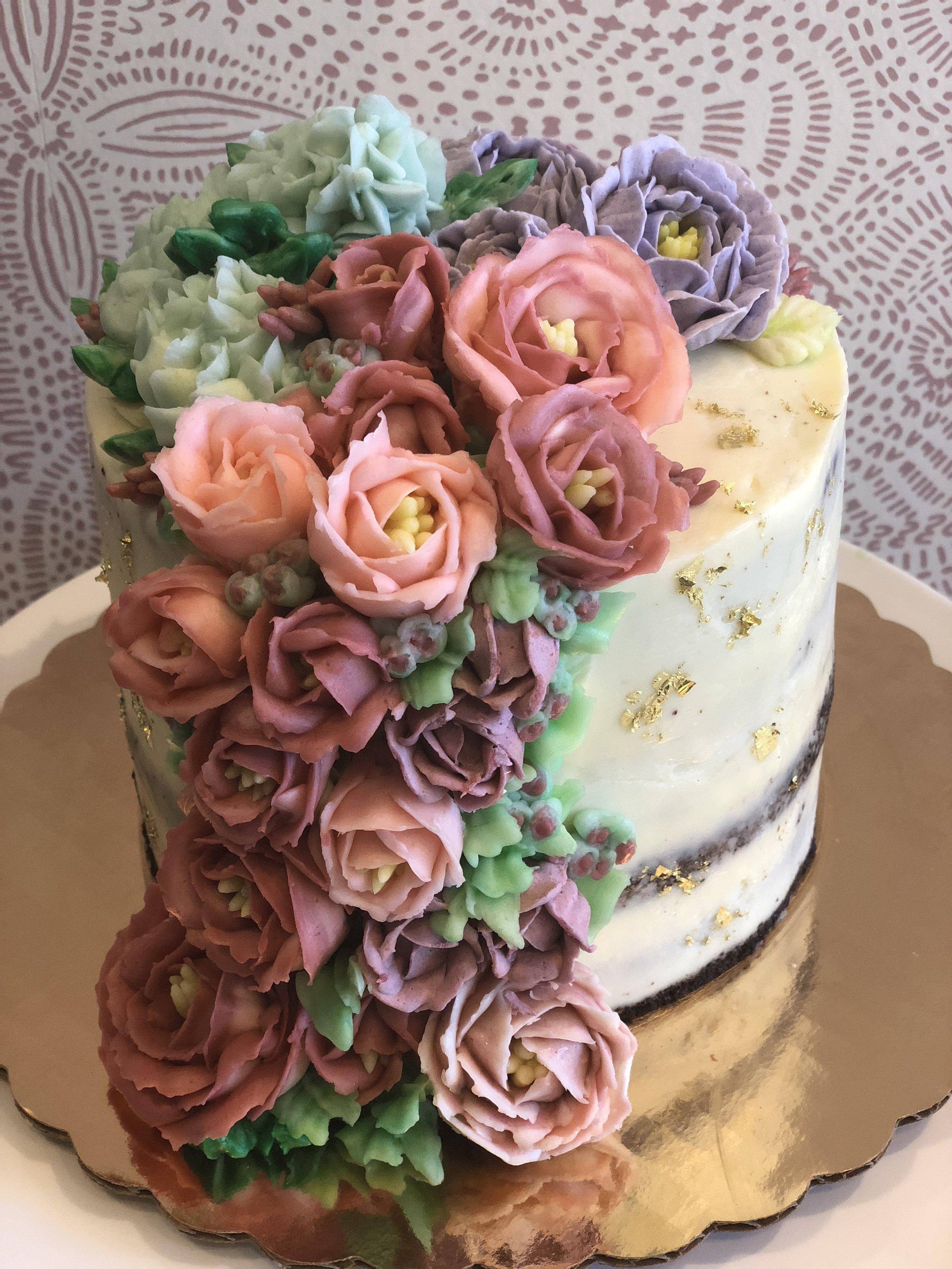 Flower Cake Cascade 8 Cakes