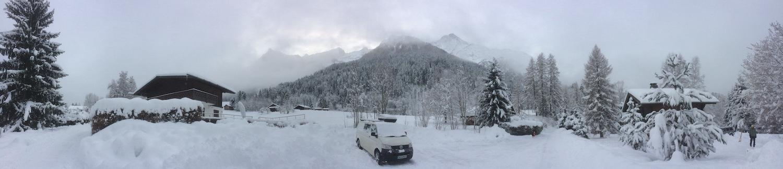 Chamonix Valley, December 2017