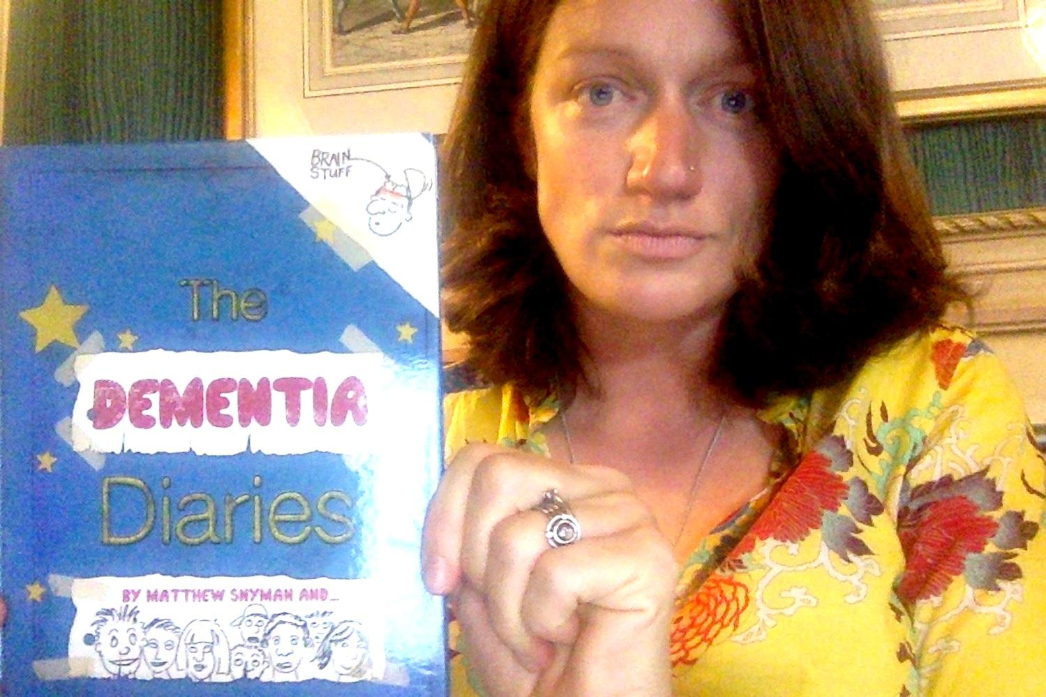 Sharing  The Dementia Diaries  at WHA72