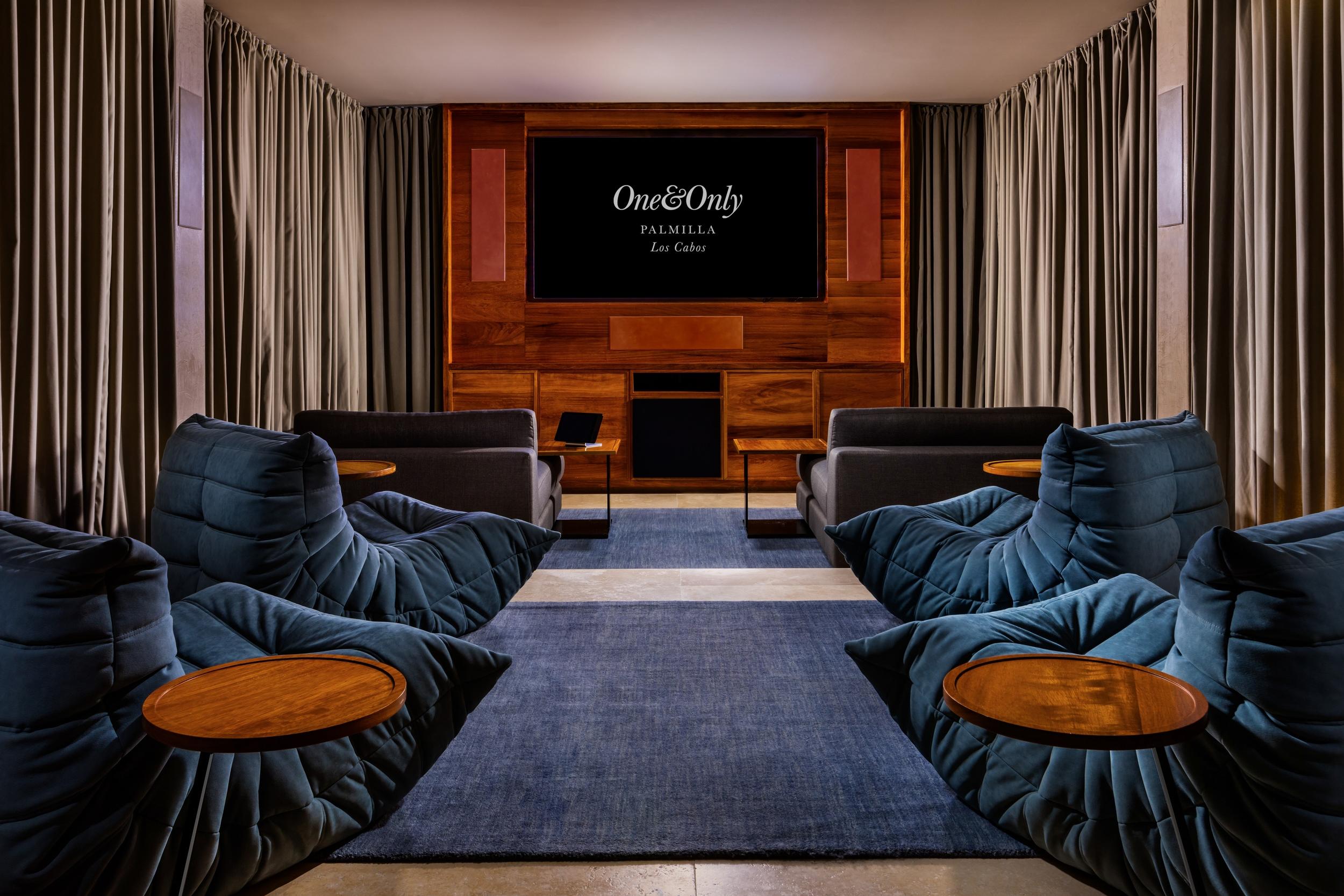 Villa One Screening Room