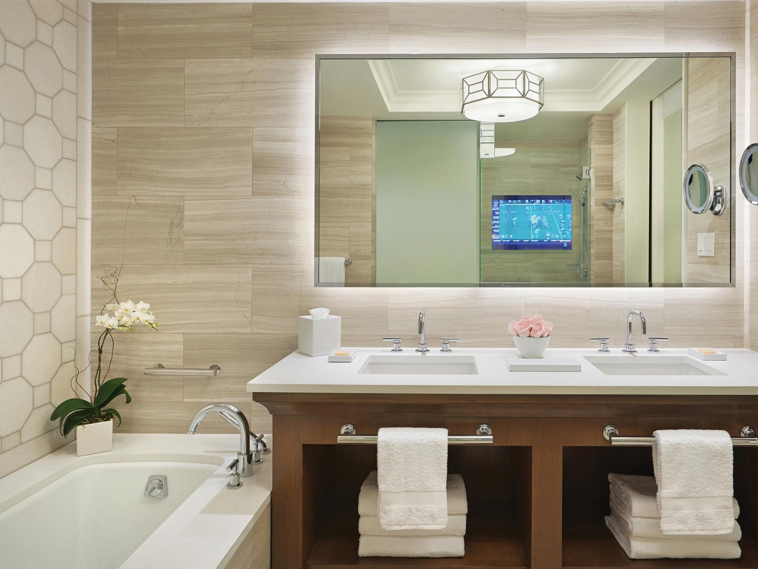 Four Seasons Orlando Guest Bathroom
