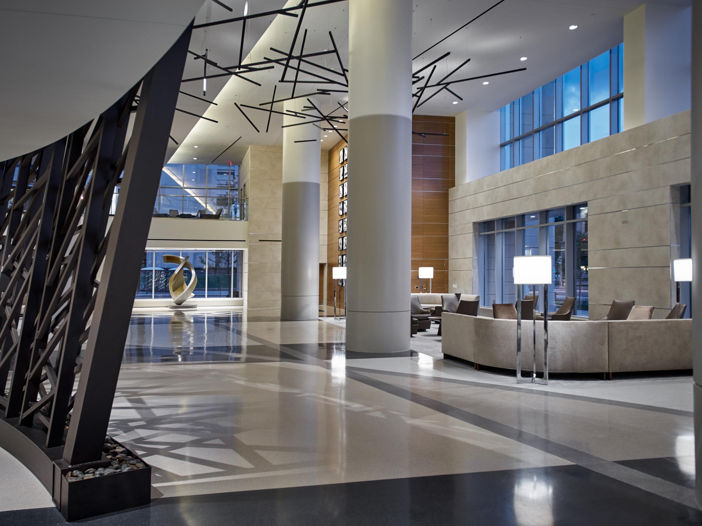 Hilton Cleveland Downtown Lobby