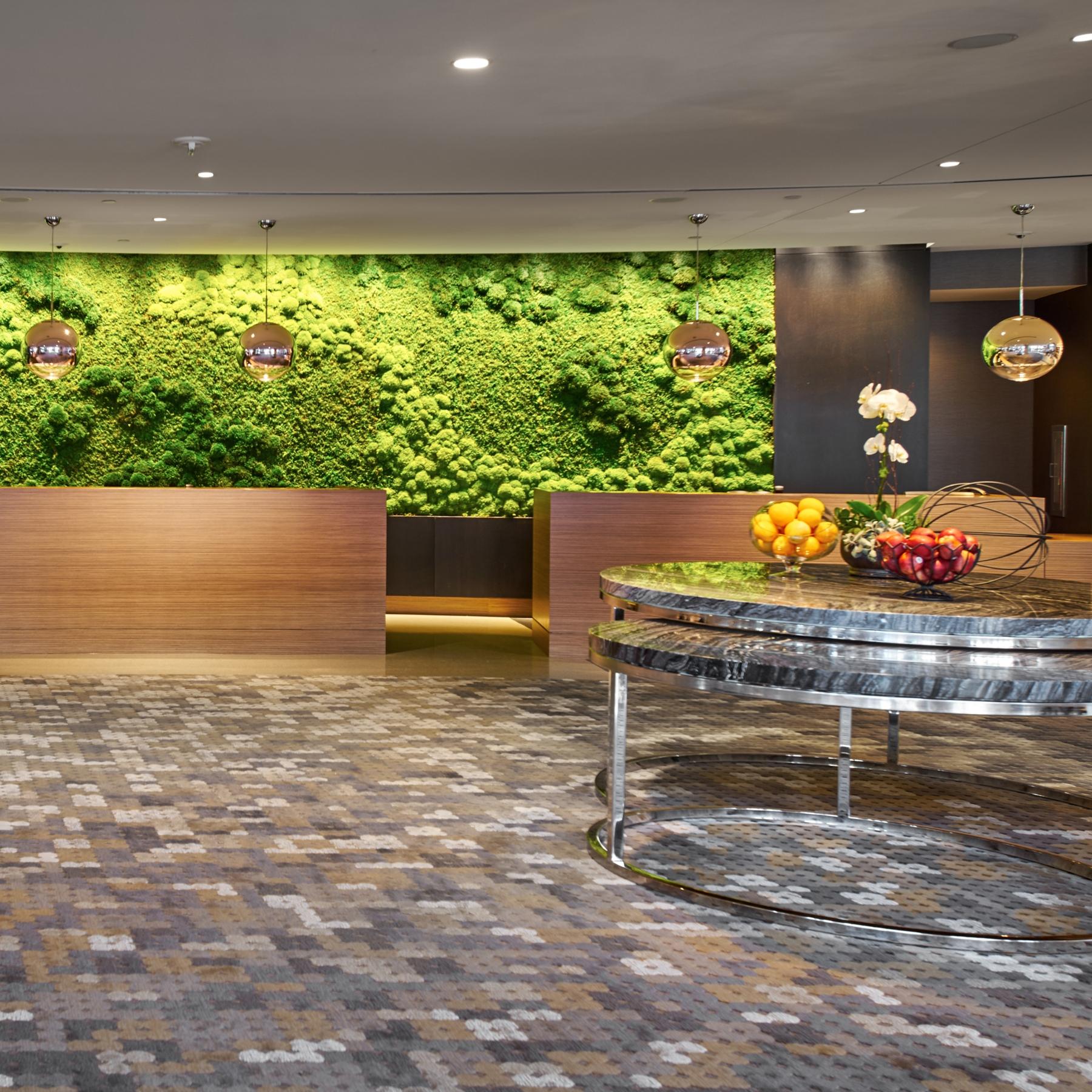 Hilton Cleveland Downtown Reception