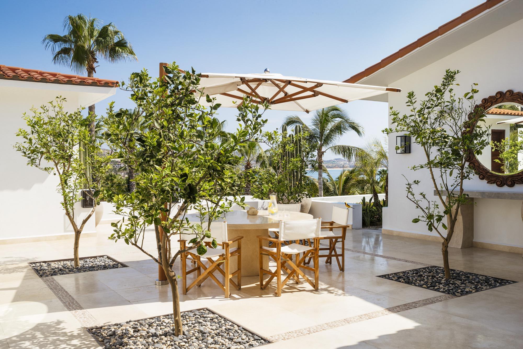 Villa One Breakfast Terrace
