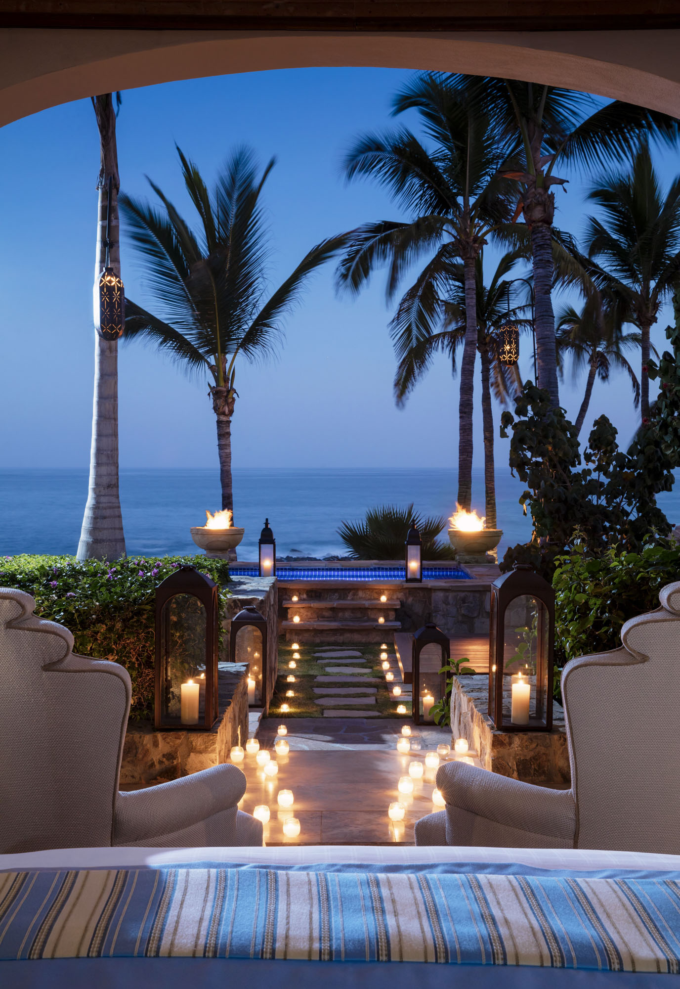 One&Only Palmilla Villa Cortez Master Bedroom View