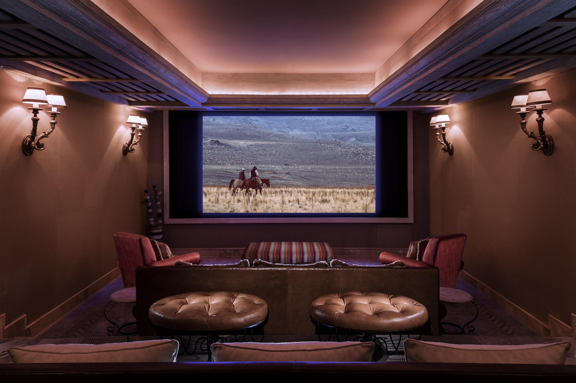 One&Only Palmilla Villa Cortez Screening Room