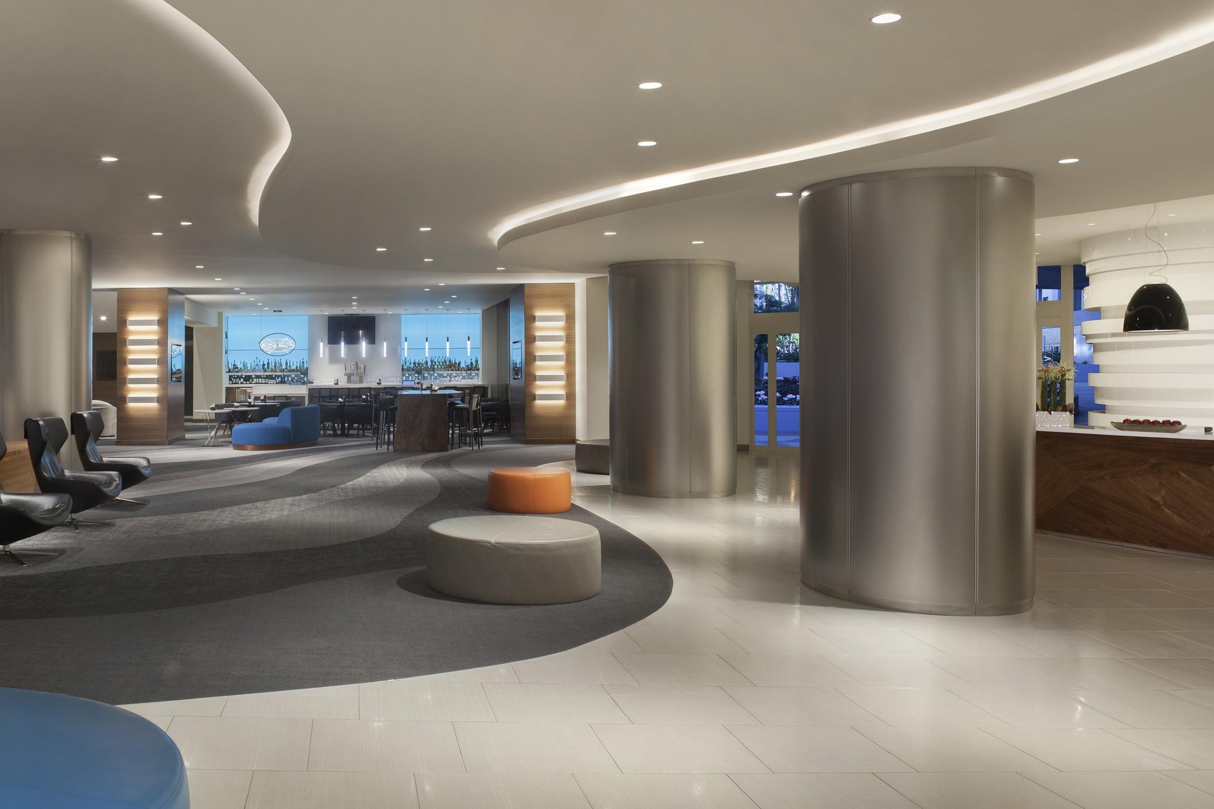 Hyatt Regency LAX Lobby