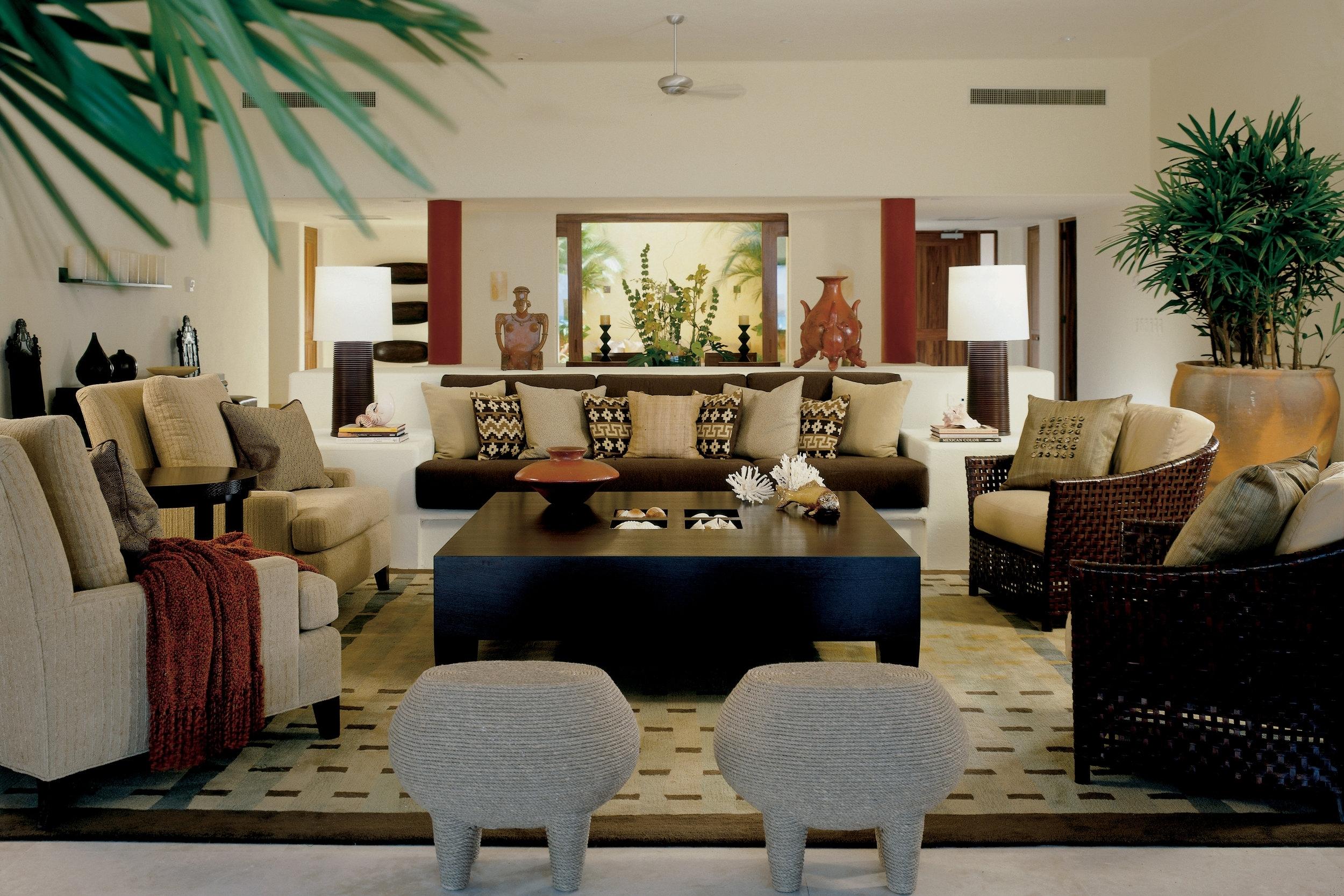 Four Seasons Punta Mita Living Room