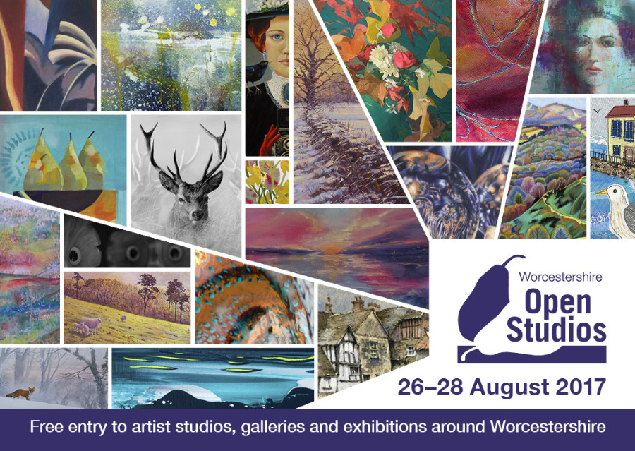 I took part in Worcestershire Open Studios this year at two venues: Malvern Hills College with seven other Malvern Schoolof Art tutors, showing screenprints, watercolours and oil paintings. Also at Iapetus Gallery in their Worcester branch showing screenprints. A very busy and enjoyable three days.