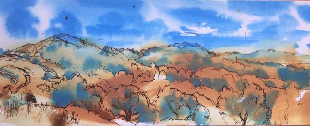 Small Malvern landscape for Acorns Children's Hospice