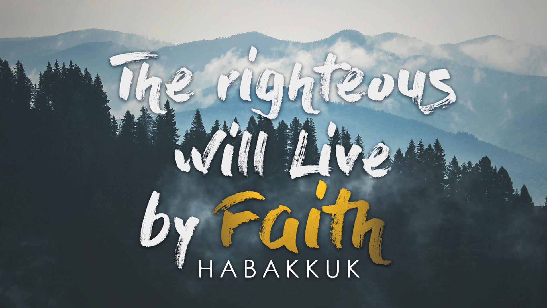 The Righteous Shall Live By His Faith - Marco De Leon - Preaching & Teaching PastorSunday, March 11th 2018