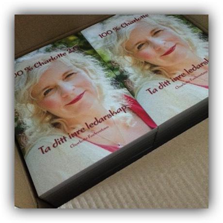 Boken  100% Charlotte  startade som passionerat skrivande.
