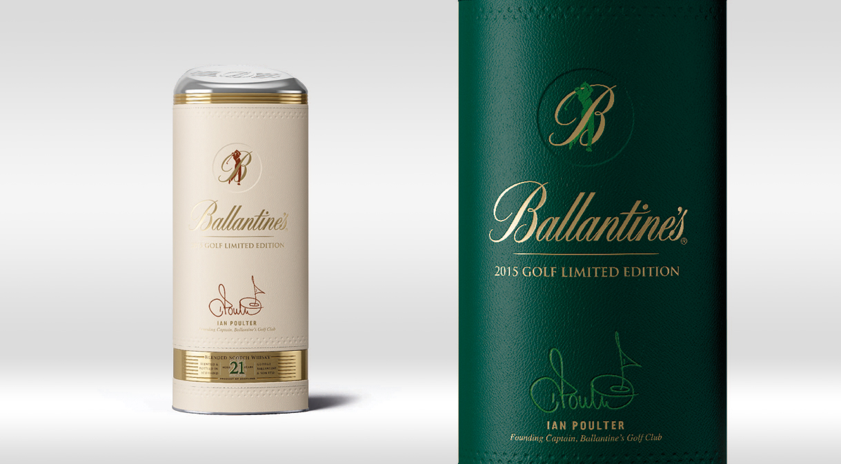 Ballantine's Golf 2015 Limited Edition