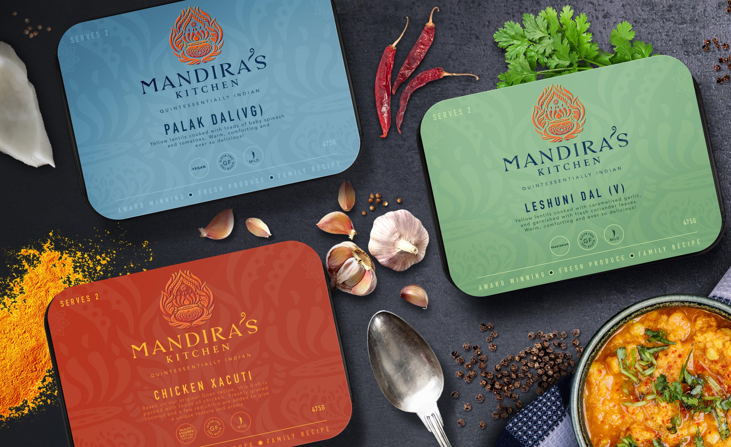 MANDIRA'S KITCHEN - QUINTESSENTIALLY INDIAN