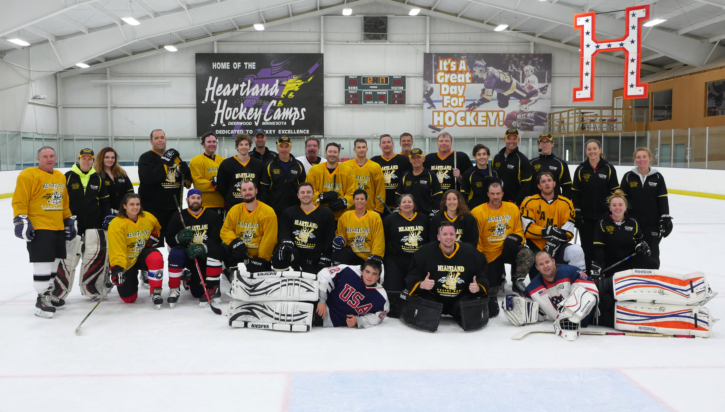 Hockey Camps for Youth and Adults | Heartland Hockey Camp