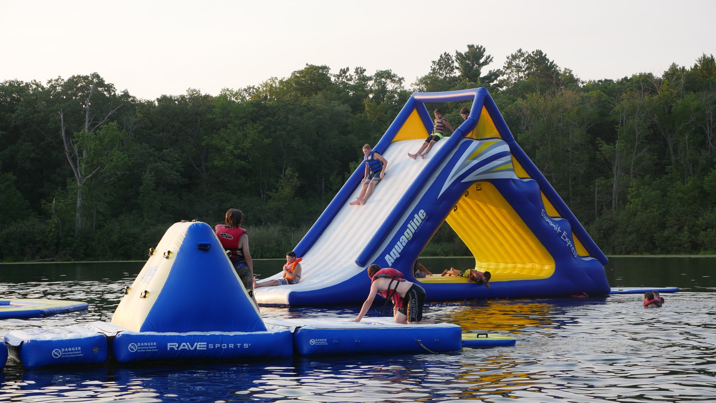 Minnesota-Summer-Lake-Rafts.JPG