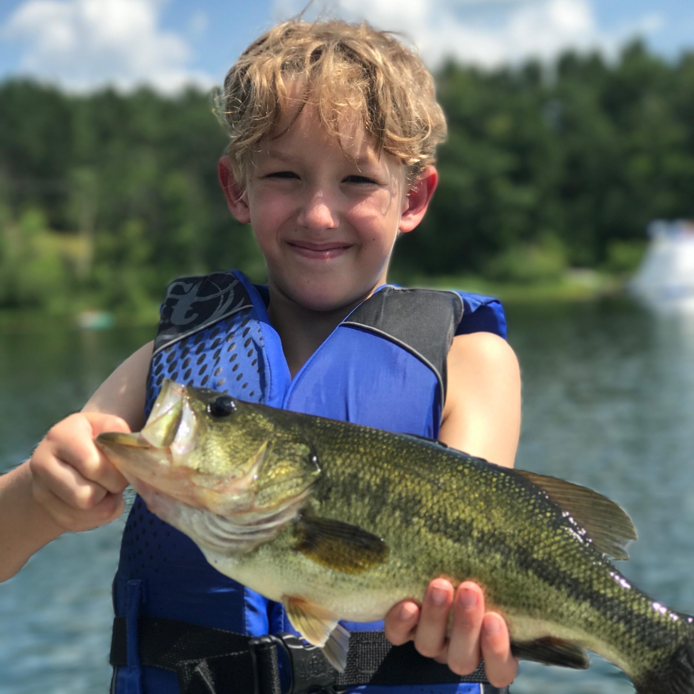 Portage Lake Fishing