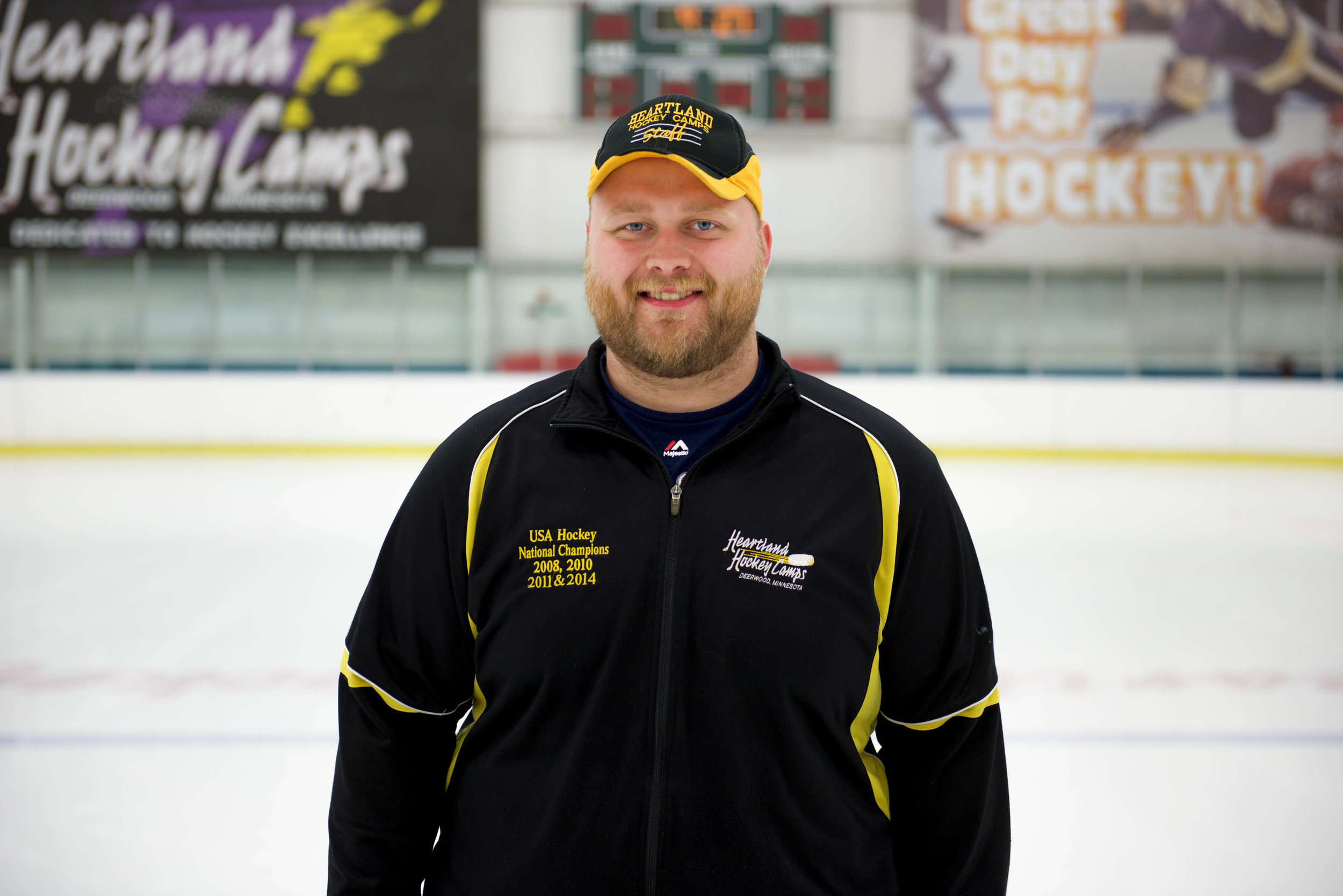 Joe Herda Goalie Coach/Assistant Arena Manager
