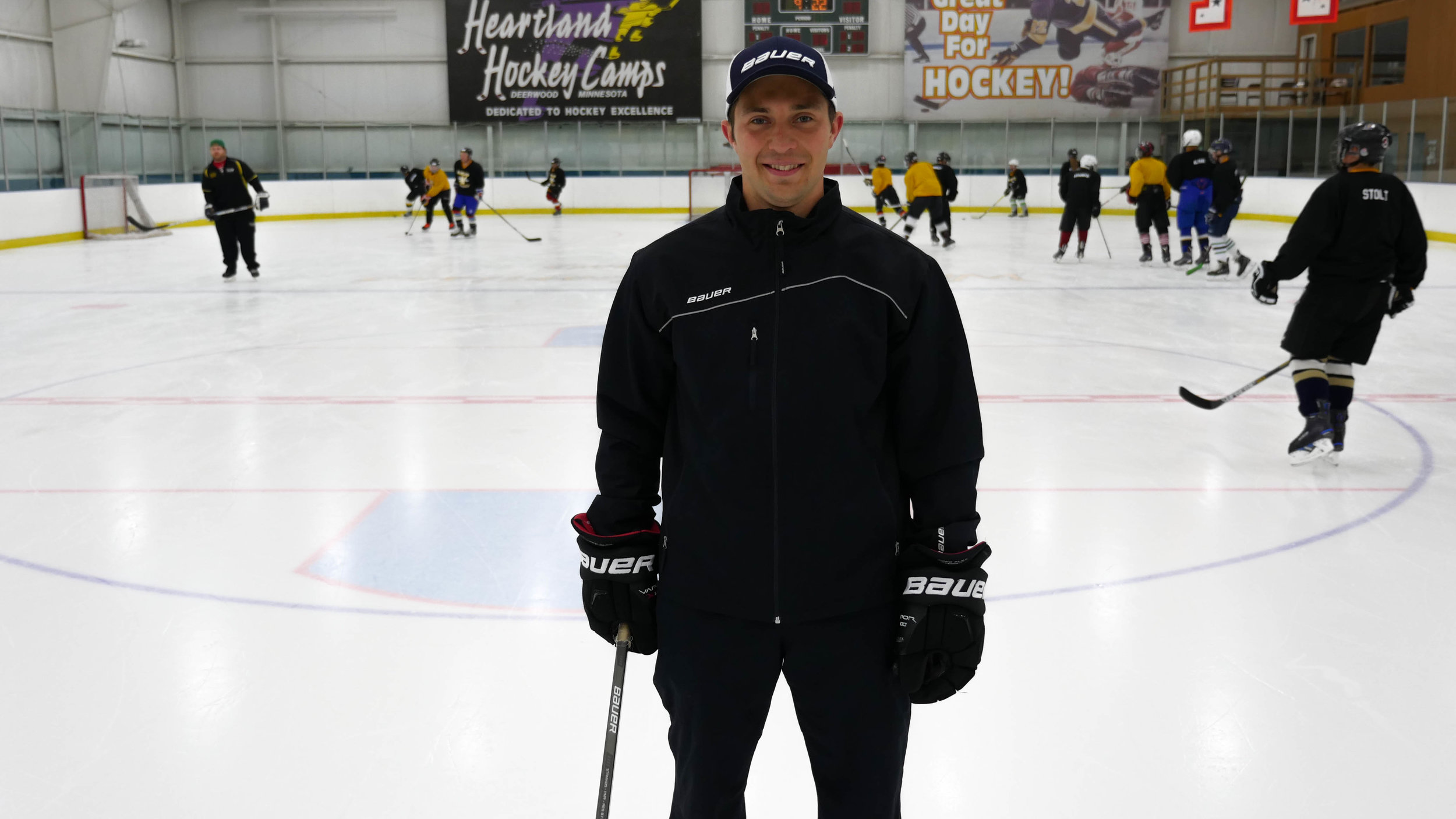 Nils Semjonovs Head Coach/Hockey Destiny Owner