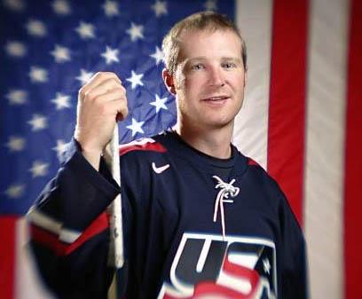 Jordan Leopold Guest Appearance Coach/U.S. Olympian