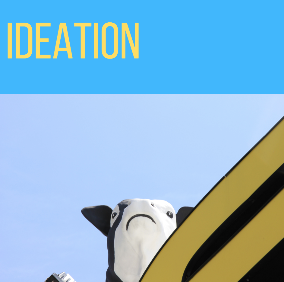 Ideation is often step one in the culture shift process. -