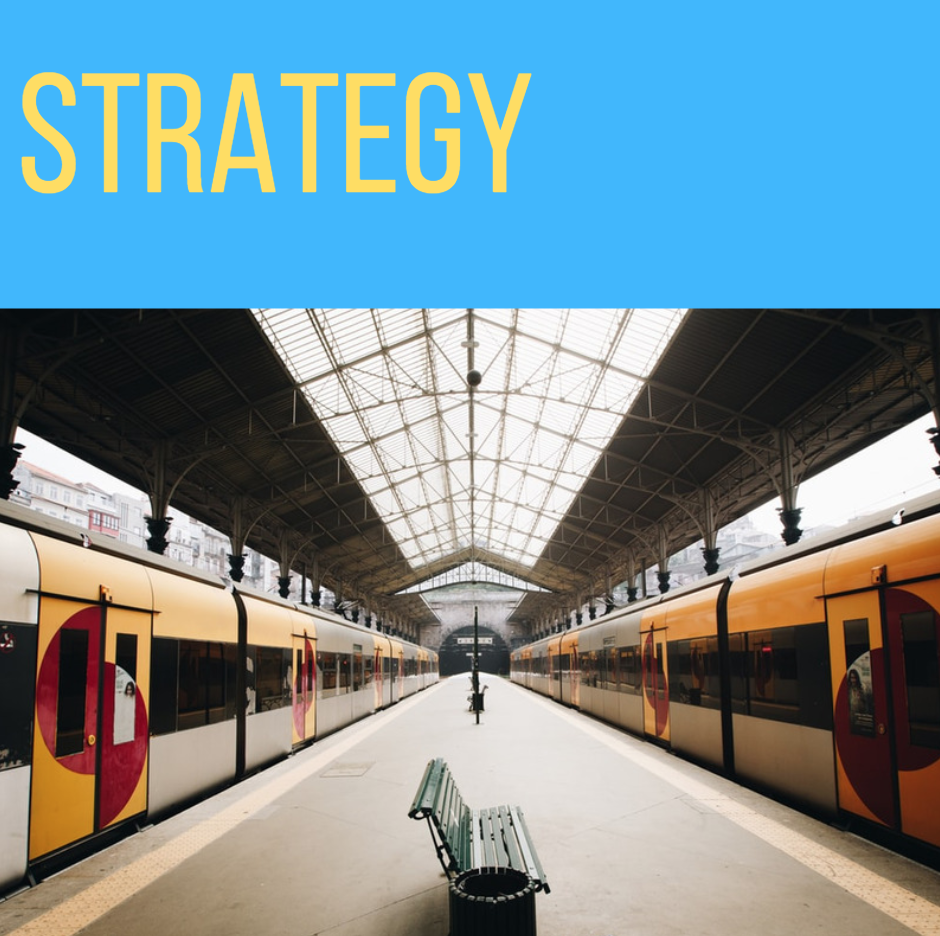 STRATEGY IS THE DIFFERENCE BETWEEN A GREAT IDEA AND A GREAT IDEA WITH A SOLID PLAN. -