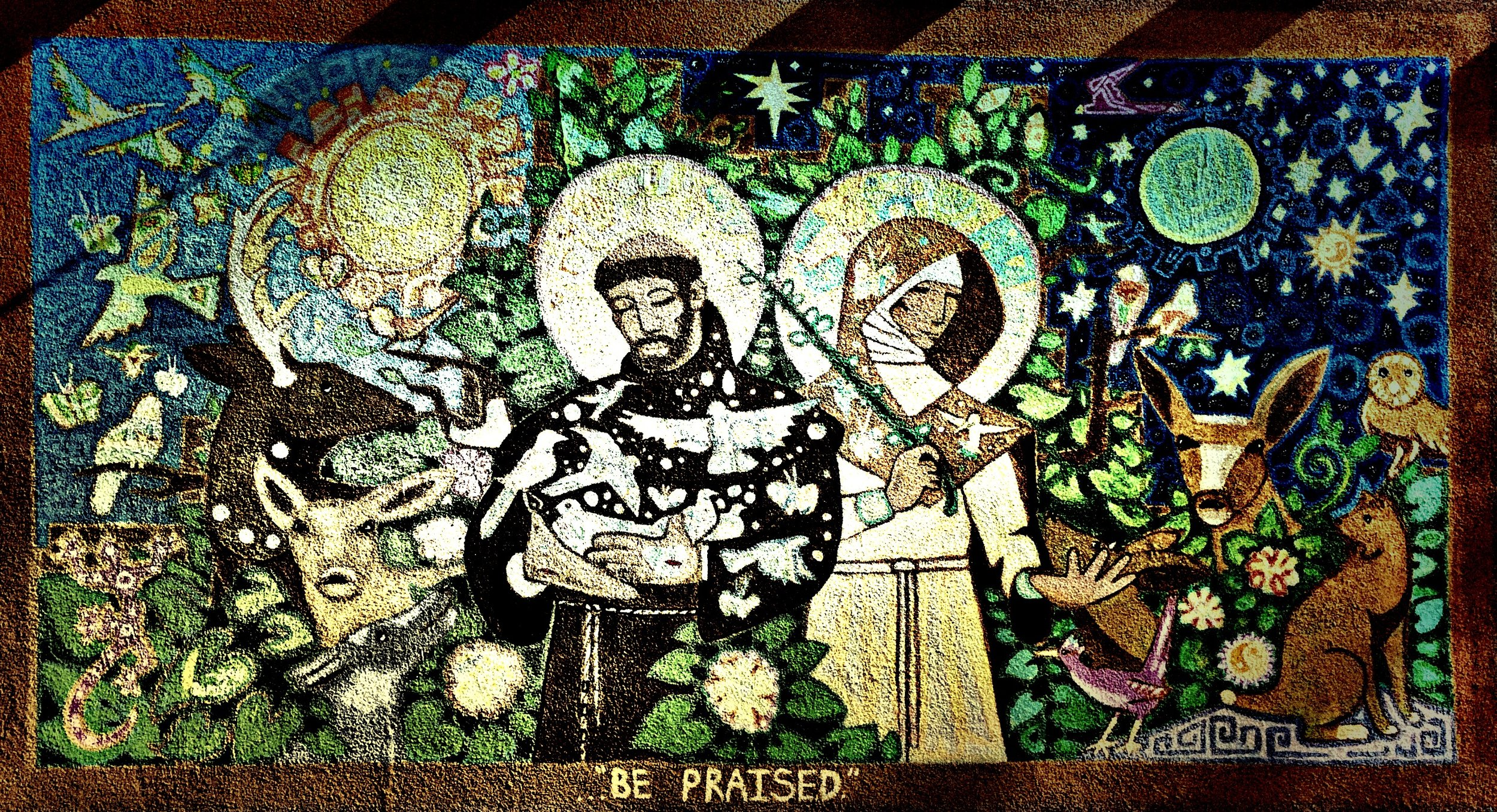 St. Francis - St. Claire Mural