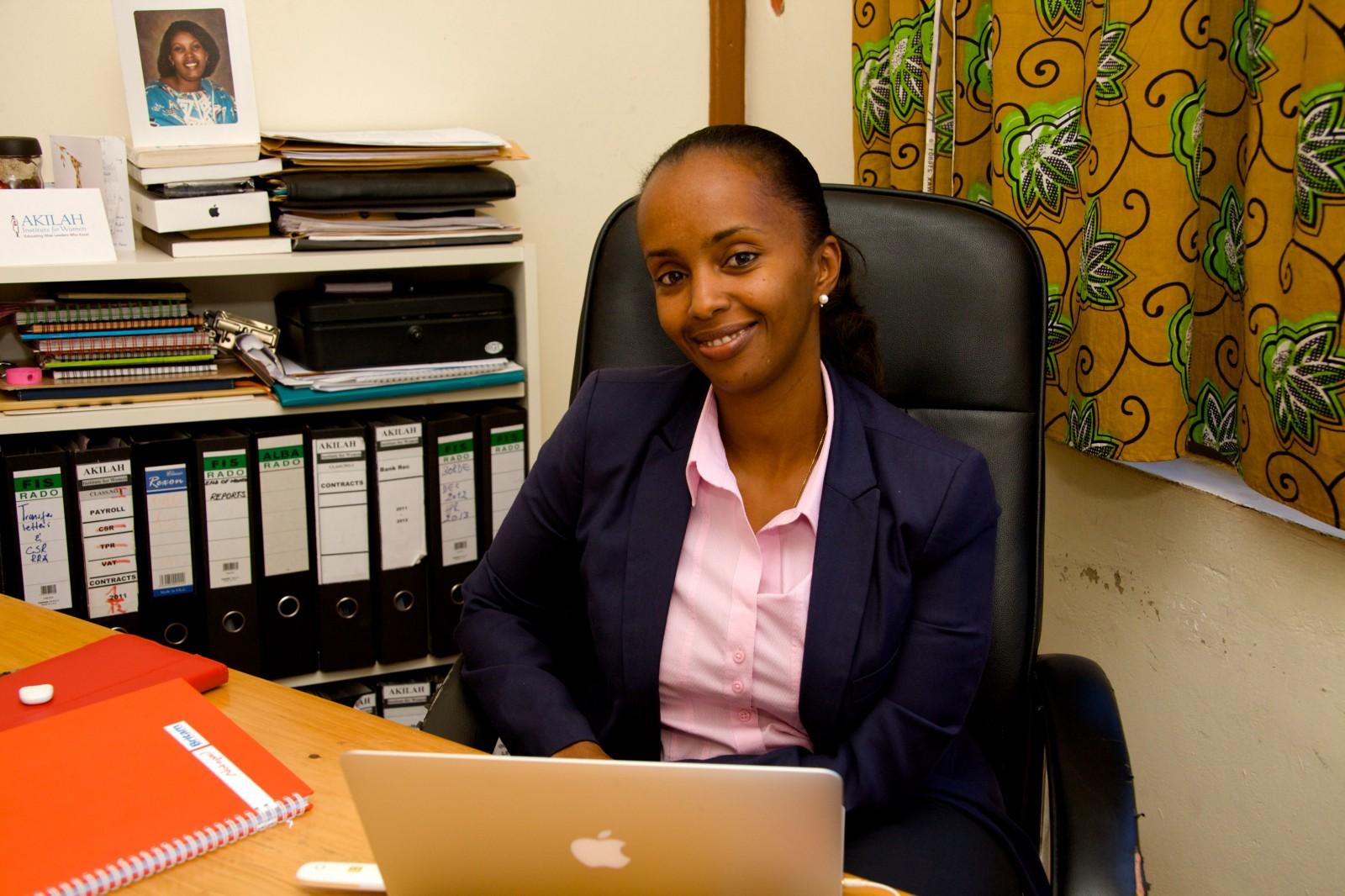 Aline Kabanda, Akilah Institute Country Director