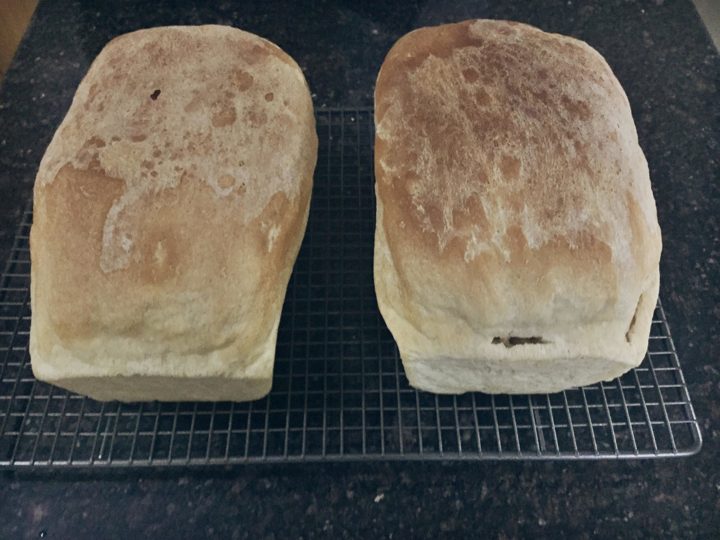 Finished bread