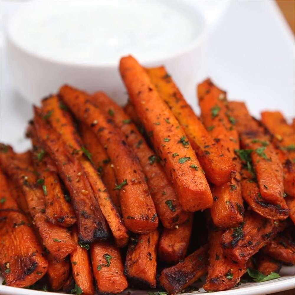 Carrot Fries -