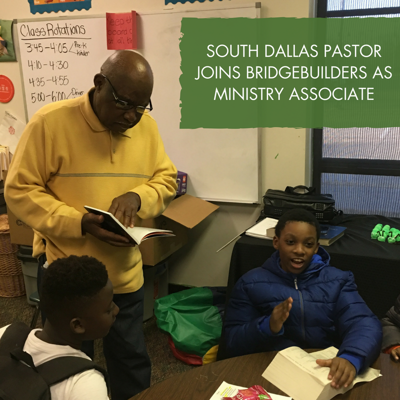 Rev. Williams teaching catechism with some of the Bonton boys