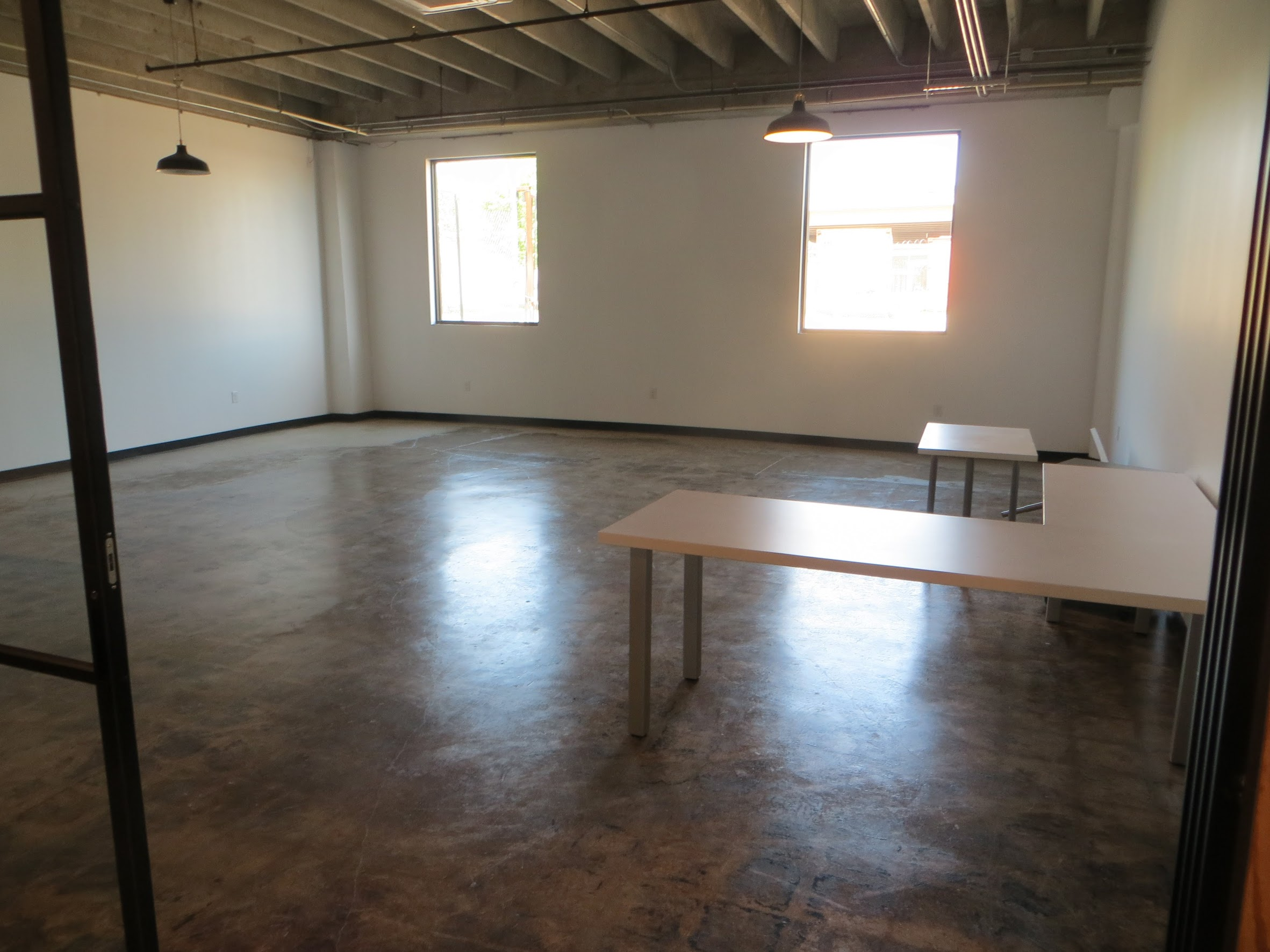Our WORK training classroom. Soon this will be filled with students who are working to make poverty history for their families.