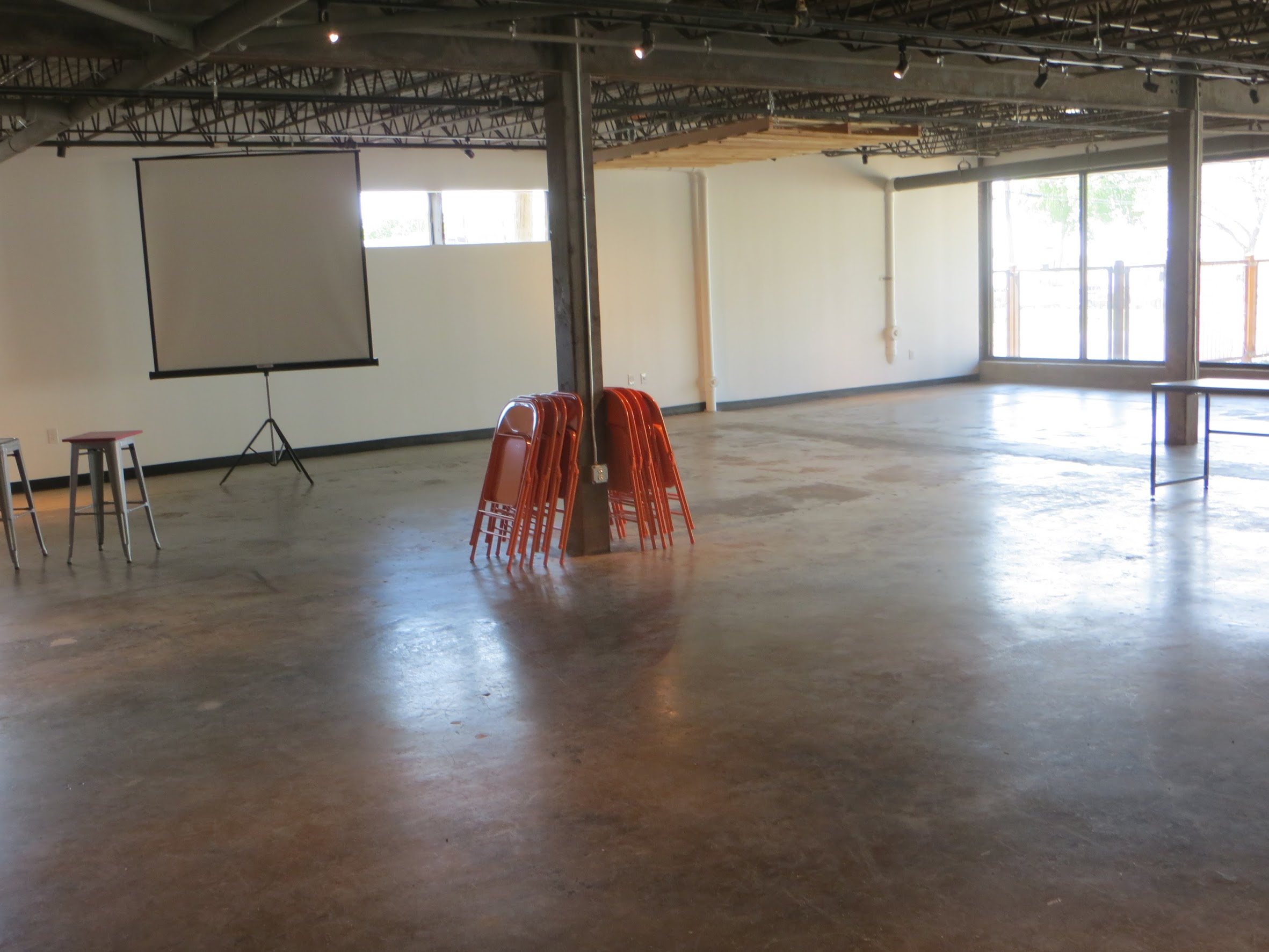 Here's one of the many areas that we will be able to host future graduations and other BridgeBuilders events in.